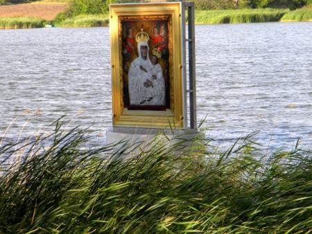 obraz na wodzie